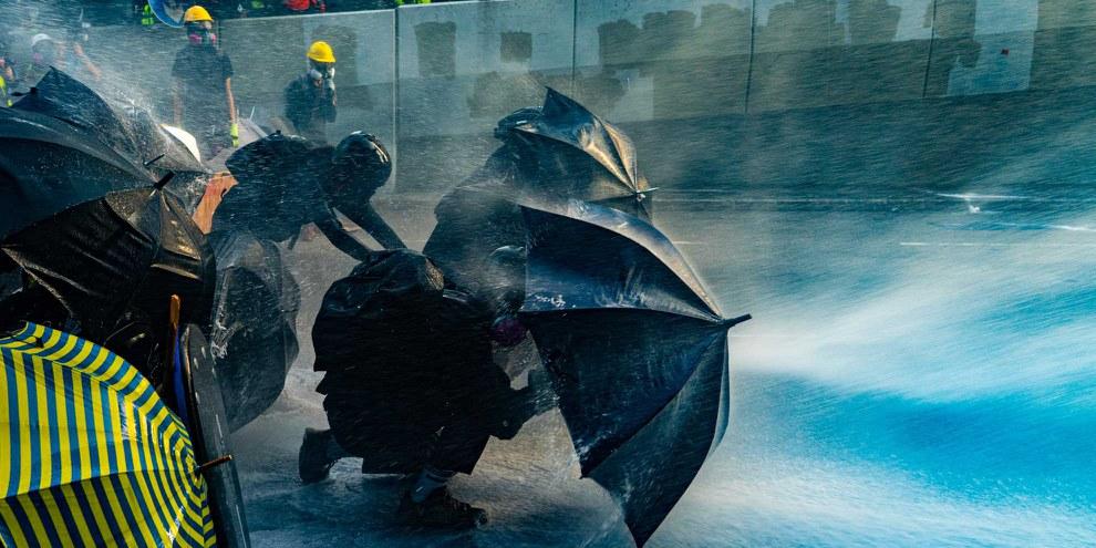 Proteste in Hongkong, September 2019. © Isaac Yeung/Shutterstock