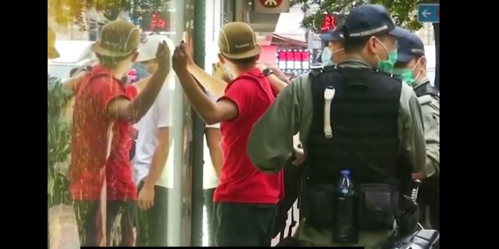 «Sicherheitsgesetz» gegen Demonstrierende