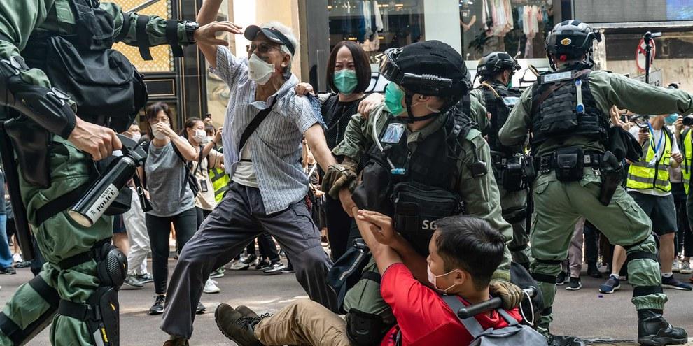 Hongkong: «Sicherheitsgesetz» gegen Demonstrierende