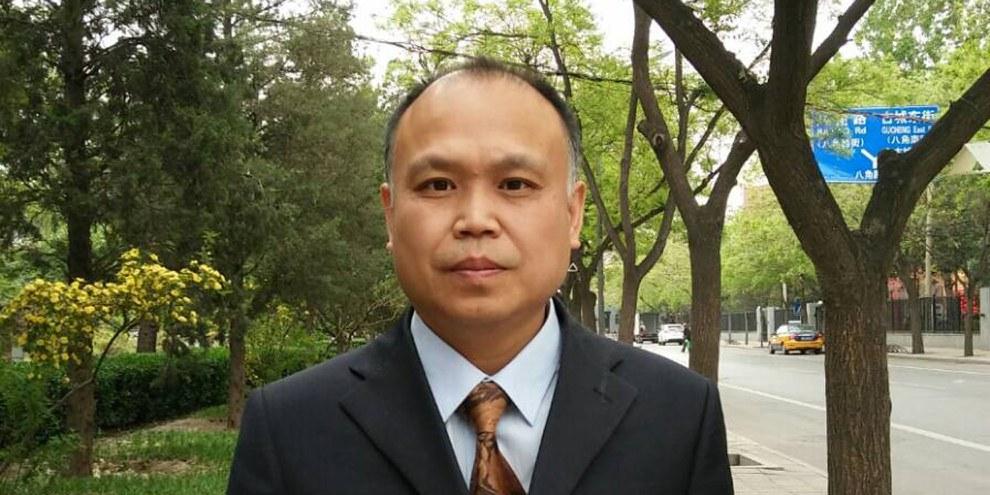 Der chinesische Menschenrechtsanwalt Yu Wensheng. © Private