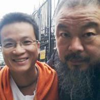 AI Weiweis Assistent Wen Tao (links) war seit April 2011 verschwunden. © ZVG