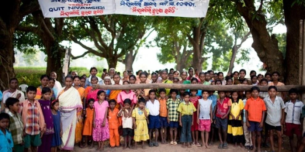 Die indigene Gemeinschaft der Dongria Kondh © Sanjit Das