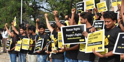 Die Bankkonten der indischen Amnesty-Sektion wurden eingefroren © Amnesty International Indien