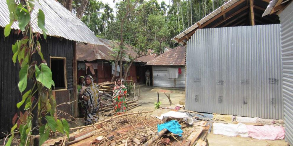 Das Gefängnis von Sittwe in Rakhine , in welchem politische Gefangene festgehalten wurden . © Nicholas Farrelly