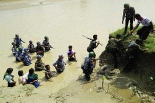 Massaker durch bewaffnete Rohingya-Gruppierung