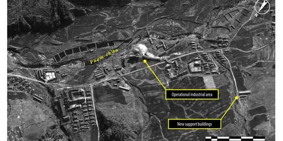 Das Straflager Kwanliso 16 wurde ausgebaut, wie Satellitenbilder zeigen. © DigitalGlobe 2013/Analyse: AI
