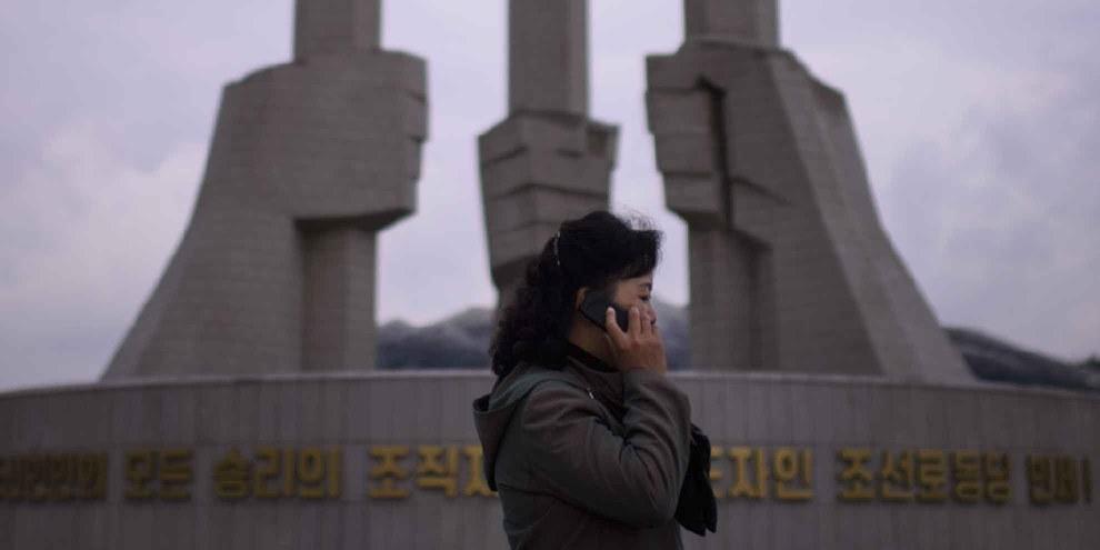 Keine Verbindung: Nordkorea kontrolliert die Mobilkommunikation seiner Bürger und Bürgerinnen vollständig. © Amnesty International