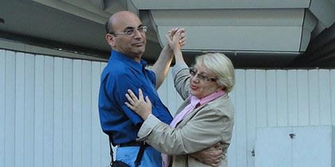 Die Menschenrechtsaktivisten Leyla und Arif Yunus wurden festegenommen, nachdem sie die Regierung scharf kritisiert haben. © Alle Rechte vorbehalten