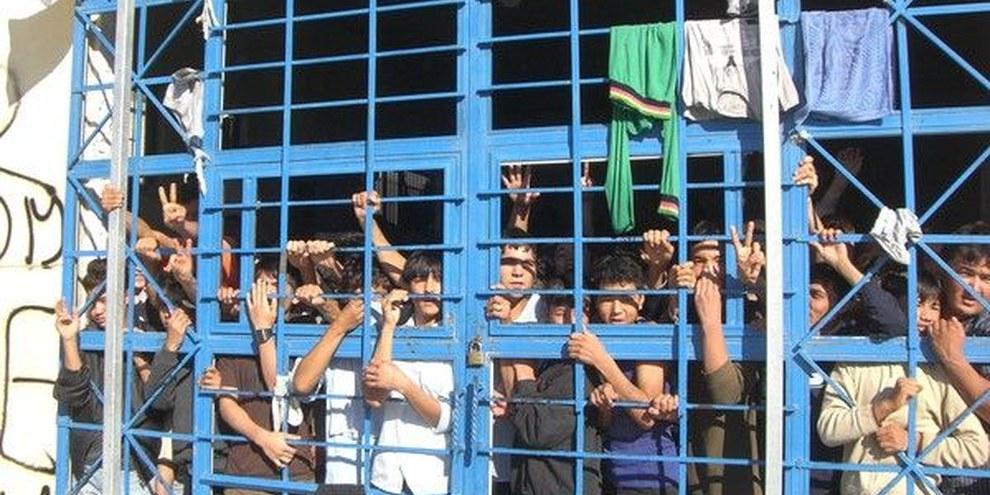 Auffanglager Lesvos, Griechenland ©UNHCR/L. Boldrini