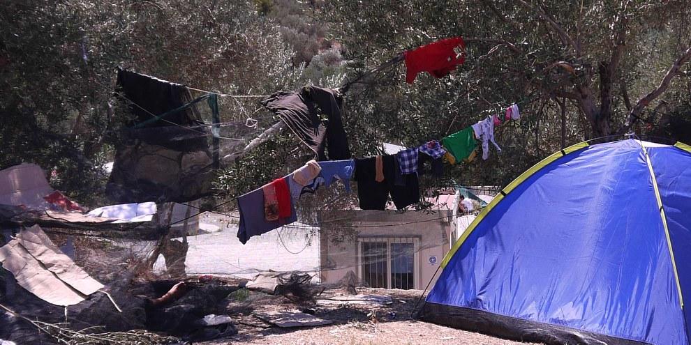 Griechenland: Unhaltbare Zustände auf Lesbos © Amnesty International