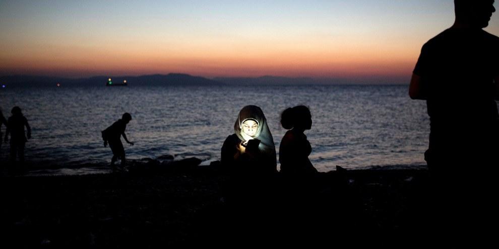 Mittlerweile machen Frauen und Kinder die Mehrheit der Geflüchteten aus, die in Griechenland eintreffen. © AI
