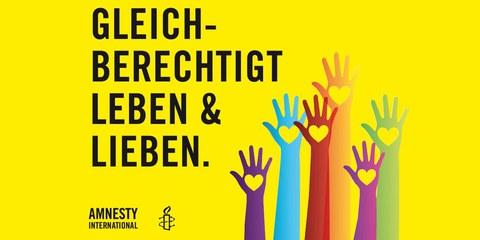 Amnesty International gratuliert der litauischen LGBTI-Gemeinde zur Baltic Pride