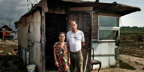 Roma Unterkunft und Zwangsräumungen in Rumänien, September 2011