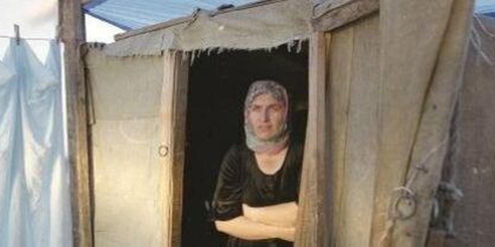 Die Tochter dieser tschetschenischen Frau wurde von einem russischen General vergewaltigt und umgebracht © Paula Allen