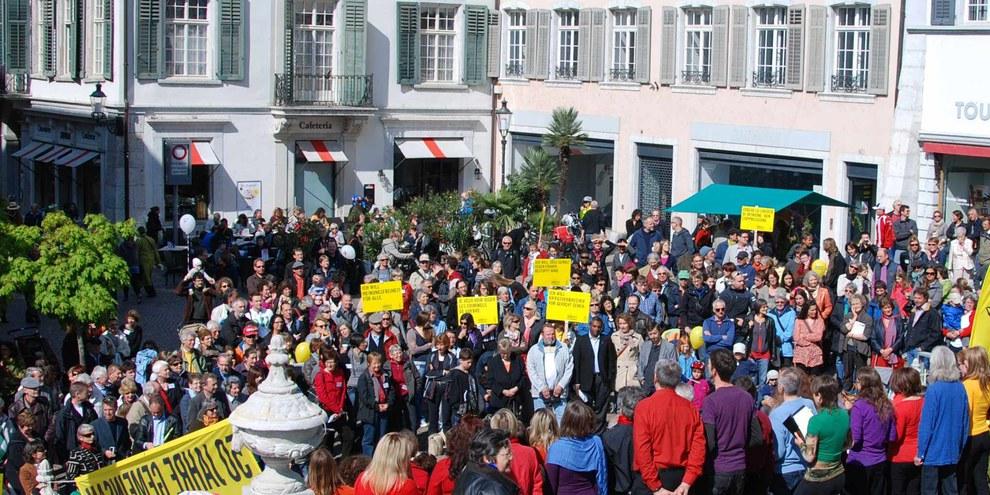Generalversammlung 2011 in Solothurn. © Fabrice Praz