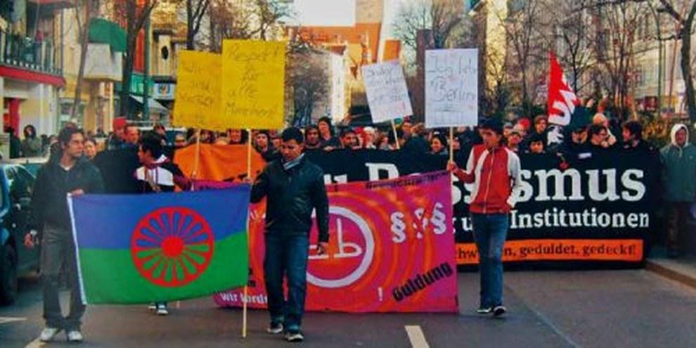 Wie in Berlin (Bild) fordern Jenische auch in Bern die Achtung ihrer Rechte. © Uwe Hiksch, flickr.com