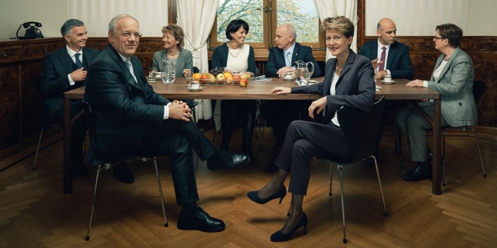 Mutloser Bundesrat: Noch immer kein Entscheid für eine nationale Menschenrechtsinstitution© Schweizer Eidgenossenschaft
