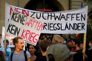 «Korrektur-Initiative» lanciert: Gegen Waffenexporte in Bürgerkriegsländer