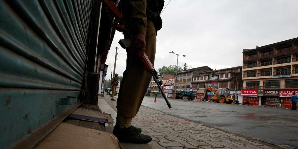 Kaschmir ist vollständig von der Aussenwelt abgeschnitten - die Menschenrechtslage ist alarmierend © SHOME Basu