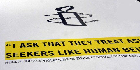 Amnesty International fordert weitergehende Schritte gegen Gewalt in Bundesasylzentren