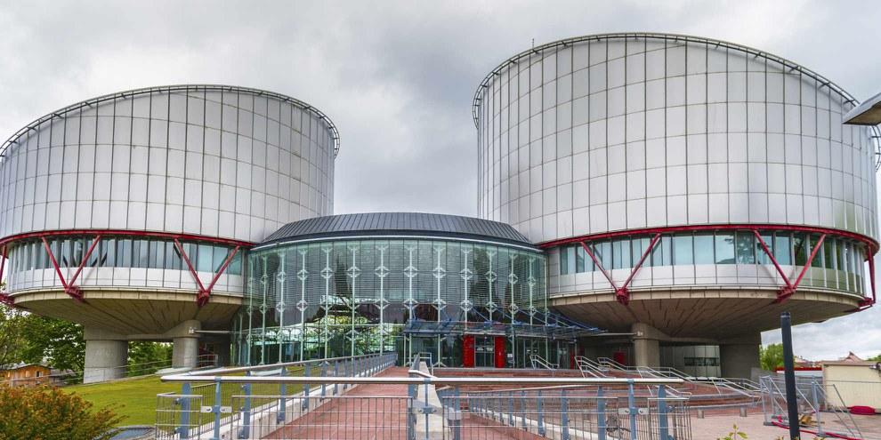 Der Europäische Gerichtshof für Menschenrechte in Strassburg. ©Shutterstock/Yuri Turkov