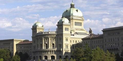 Bundeshaus Bern, Südsicht. © parlament.ch