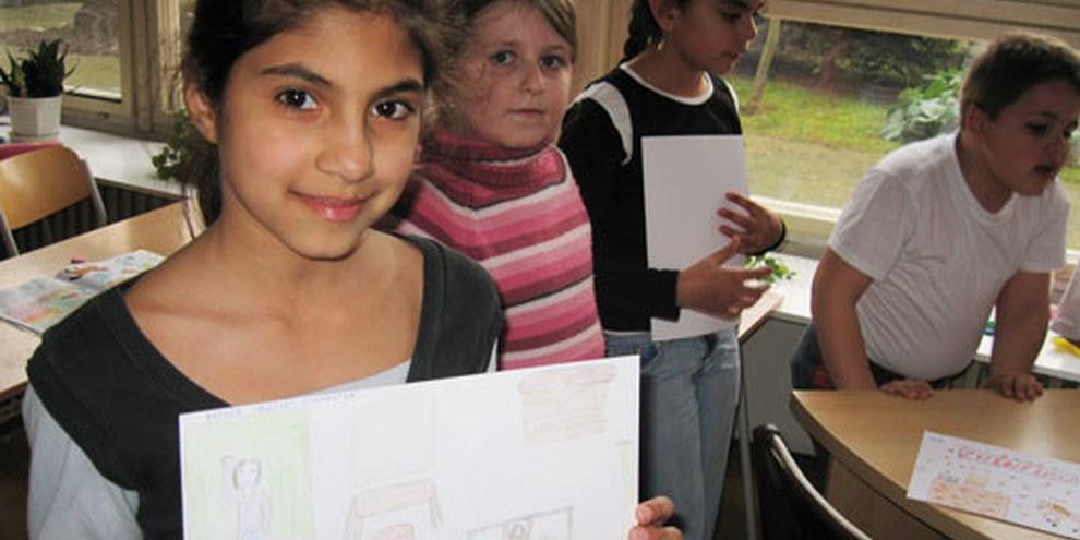 Romakinder in einer Schule der ostslowakischen Stadt Pavlovce nad Uhom. © AI