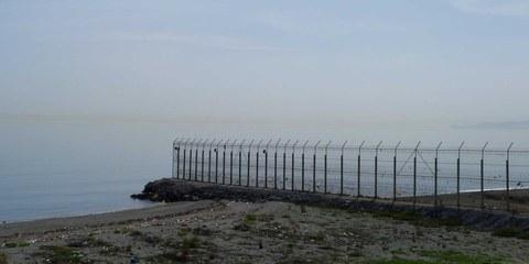 Grenzzaun in Tarajal, zwischen Marokko und der spanischen Exklave Ceuta. © Amnesty International