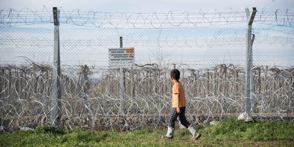 Flüchtlinge an den Grenzen Europas: Kein Durchkommen. © Fotis Filippou