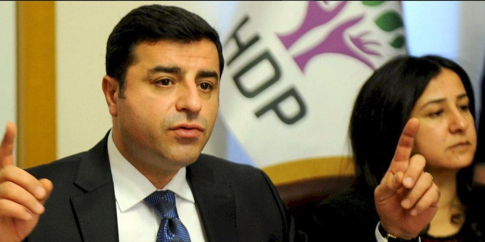 Verhaftet: Selahattin Demirtas, Co-Vorsitzender der HDP. © ADEM ALTAN/AFP/Getty Images