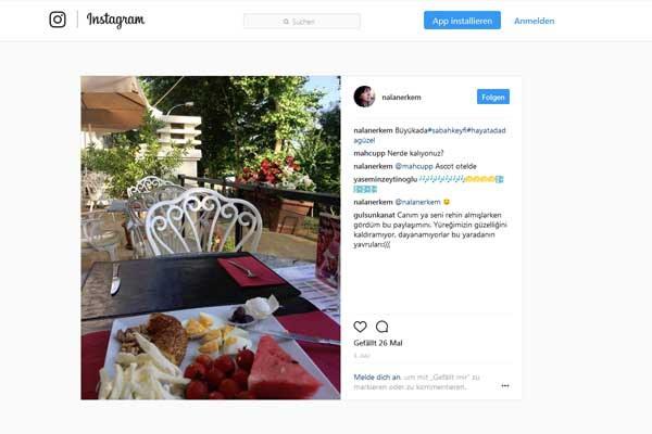 Der Instagramm-Beweis