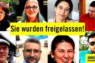 Idil Eser ist frei!