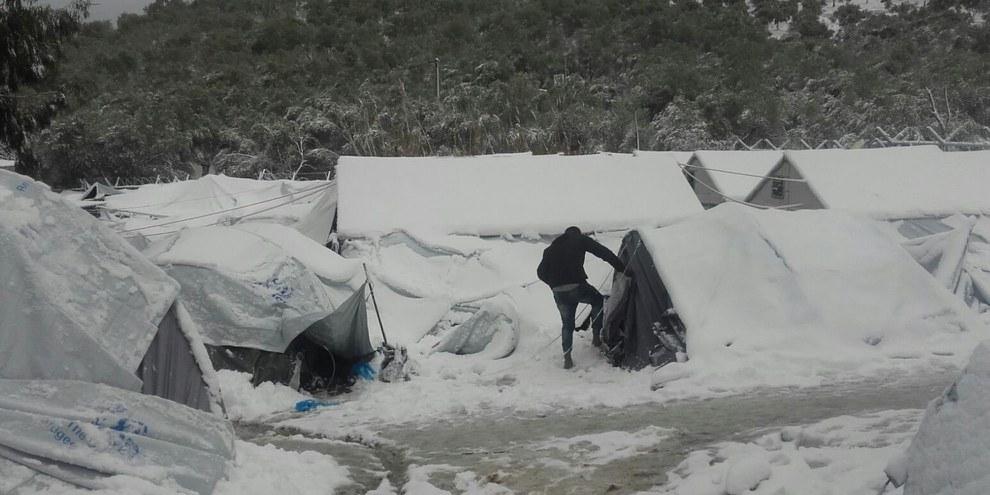 Lesbos, 7. Januar 2017 © Giorgos Kosmopoulos