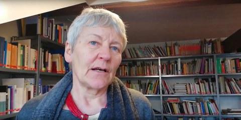 Denise Graf, Amnesty-Expertin und Freundin von Taner zu dessen Freilassung. © AI