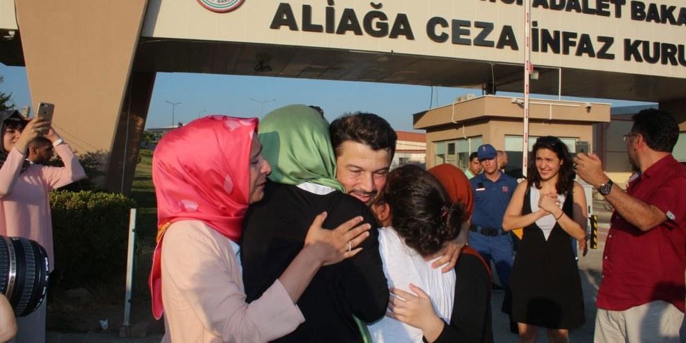 Taner Kılıç verbrachte mehr als ein Jahr zu Unrecht im Gefängnis. © Amnesty International