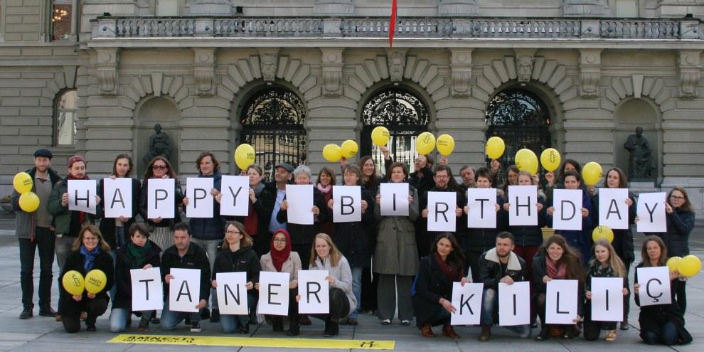 Taner Kılıç – Geburtstag hinter Gittern