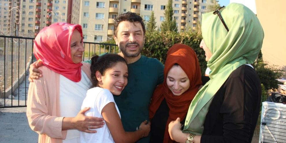 Taner Kılıç nach seiner Entlassung aus der Untersuchungshaft, 15. August 2018.