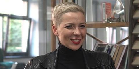Maria Kolesnikowa, im August 2020. © GomelTube / CC BY Wikimedia