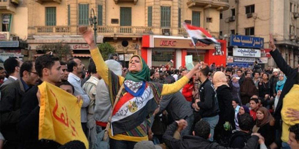 Proteste am 25.01.2011 © Demotix / Nour El Refai
