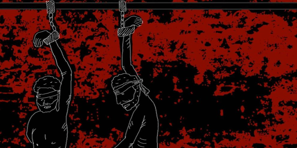 Illustration des Berichtes «Egypt: 'Officially, you do not exist': Disappeared and tortured in the name of counter-terrorism»  © Amnesty International
