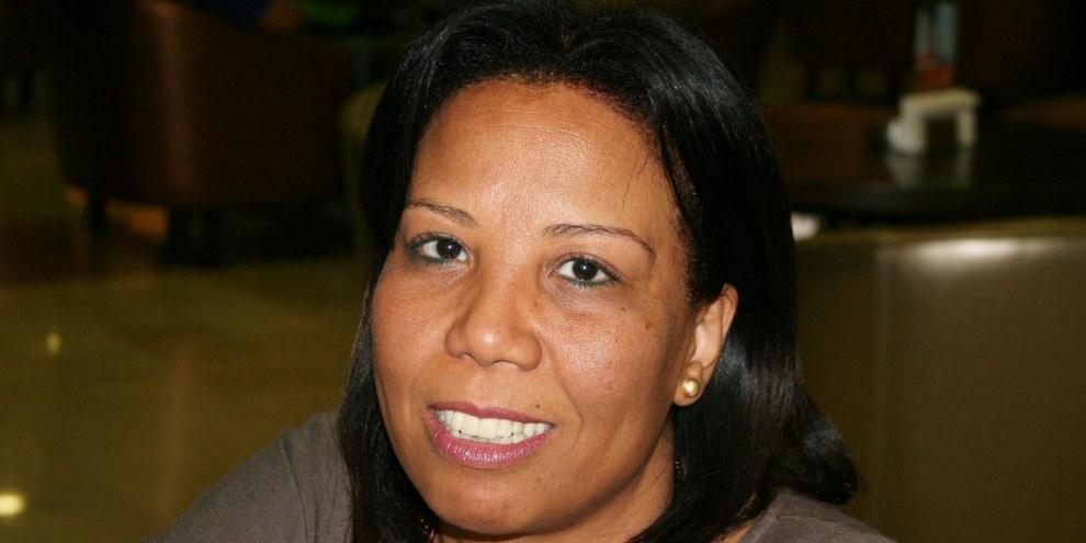 Azza Suliman, Anwältin und Koordinatorin der feministischen Koalition in Ägypten. © Amnesty International