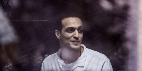 Der ägyptische Fotojournalist Mahmoud Abu Zeid  © Hussein Tallal