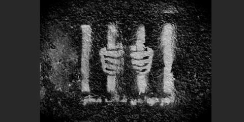 Von den Protesten ins Gefängnis: Jugendgraffiti in Kairo 2012 © Amnesty International