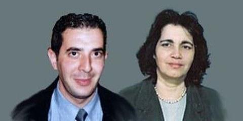Amine Siodhoum und Hassiba Boumerdesi © Privat