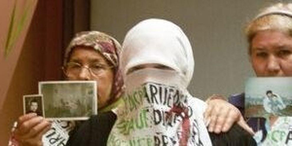Algerische Mütter setzen sich für ihre «verschwundenen» Angehörigen ein © AI