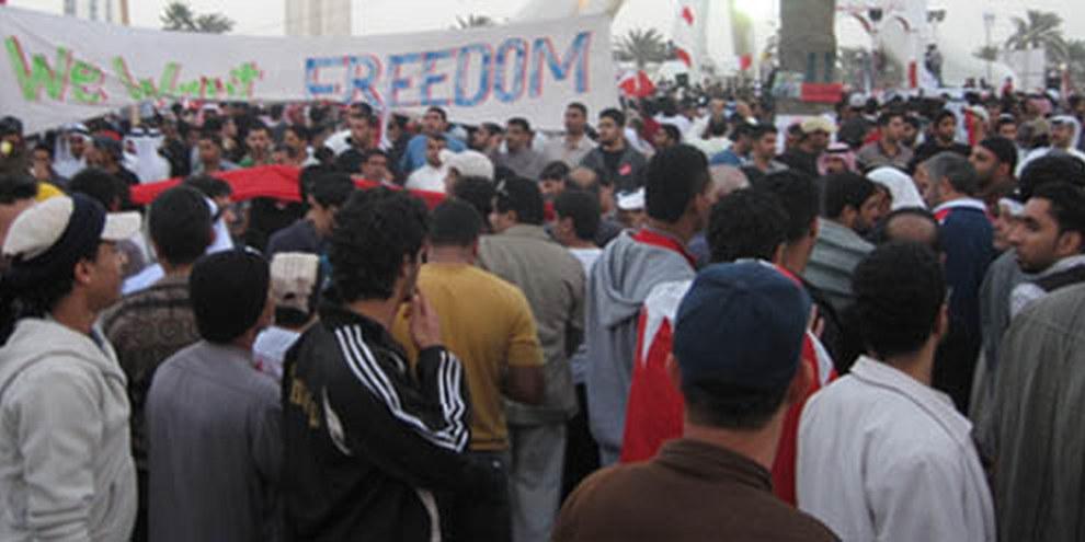 Proteste in Manama, Bahrain, 22 Februar 2011 © Amnesty International