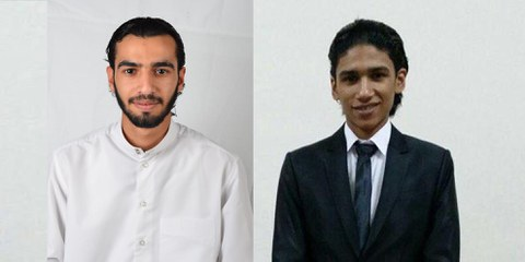 Ali Mohamed Hakeem al-Arab (links), Ahmed Issa Ahmed al-Malali (rechts) © Privat