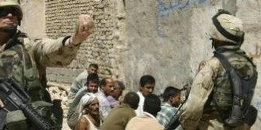 Die allierten Truppen begehen im Irak gravierende Menschenrechtsverletzungen  © Rei Shiva