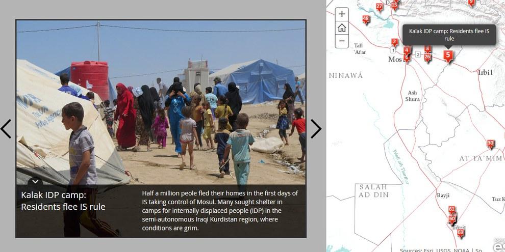 Storymap © AI USA esri.com