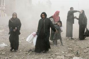 Kämpfe führen zu humanitärer Notlage in West-Mossul